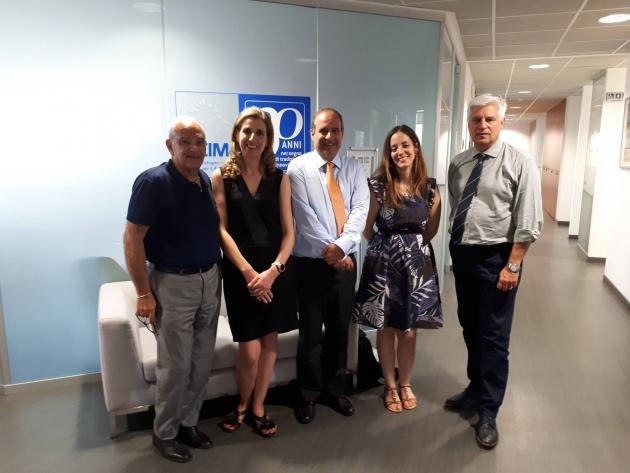 Ultima visita del top management di IQNet Ltd in CISQ - Last visit of IQNet Ltd Top Management in CISQ
